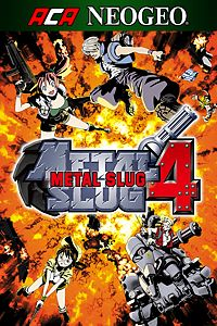 ACA NEOGEO METAL SLUG 4 playone.club