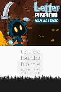 Letter Quest: Grimm's Journey/Three Fourths Home Extended Edition Bundle playone.club