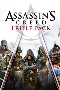 Assassin's Creed Triple Pack: Black Flag, Unity, Syndicate - игра по лучшей цене для Xbox One
