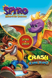 Spyro + Crash Remastered Game Bundle playone.club